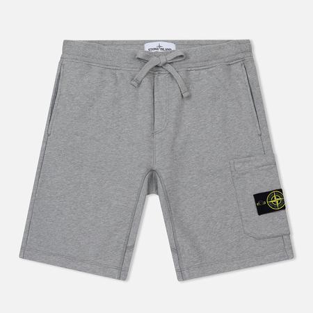 Мужские шорты Stone Island Cargo Pocket Garment Dyed Dust Grey