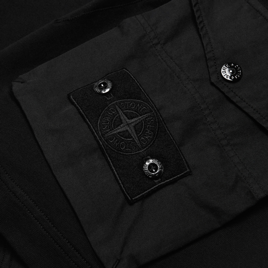 Мужские шорты Stone Island Ghost Piece Bermuda Black
