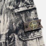 Мужские шорты Stone Island Hand Corrosion Bermuda Fleece Black фото- 1