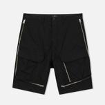 Мужские шорты Stone Island Shadow Project Vented Cargo Drop Pocket Black фото- 0