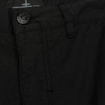 Мужские шорты Stone Island Shadow Project Vented Cargo Drop Pocket Black фото- 1