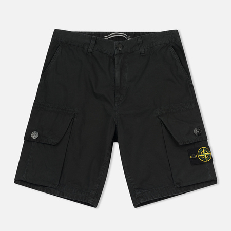 Мужские шорты Stone Island T.CO+OLD Bermuda Black