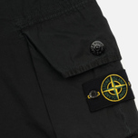 Мужские шорты Stone Island T.CO+OLD Bermuda Black фото- 5