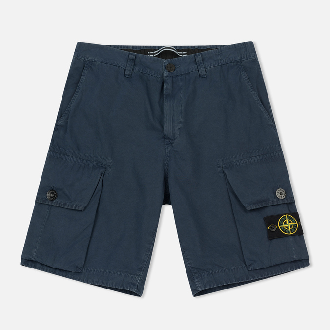 Мужские шорты Stone Island T.CO+OLD Bermuda Marine Blue