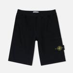 Мужские шорты Stone Island T.CO+OLD Fleece Bermuda Black фото- 0
