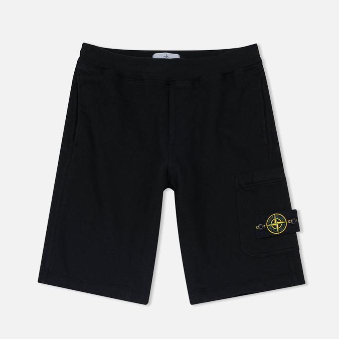 Мужские шорты Stone Island T.CO+OLD Fleece Bermuda Black