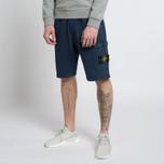 Мужские шорты Stone Island T.CO+OLD Fleece Bermuda Blue фото- 5