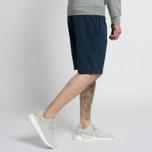 Мужские шорты Stone Island T.CO+OLD Fleece Bermuda Blue фото- 6