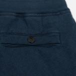 Мужские шорты Stone Island T.CO+OLD Fleece Bermuda Blue фото- 4
