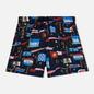 Мужские шорты Tommy Jeans Sailing Flag Medium Drawstring Flag Print Navy Blazer фото - 0