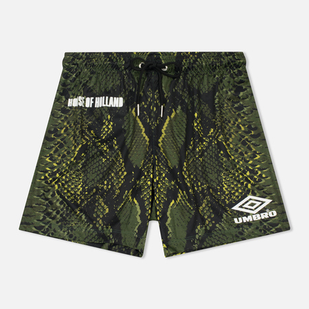 Мужские шорты Umbro x House Of Holland Snake Print Swim Green