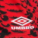 Мужские шорты Umbro x House Of Holland Snake Print Swim Red фото- 3