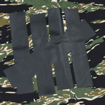 Мужские шорты Undefeated Big 5 Strikes Sweat Camo фото- 1