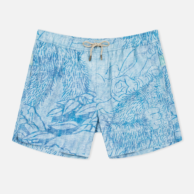 Uniformes Generale Stay Wild La Brea Men`s Shorts Blue Chambray
