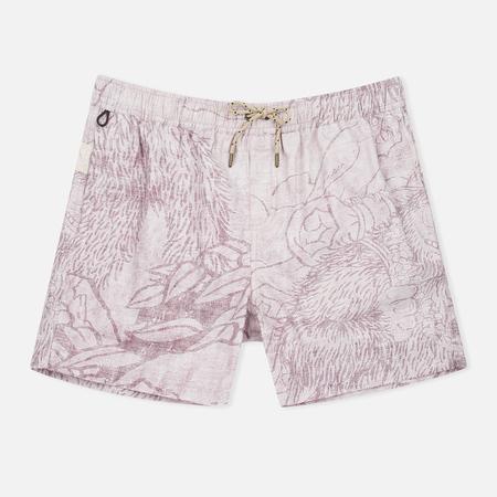 Uniformes Generale Stay Wild La Brea Men`s Shorts Brown Chambray