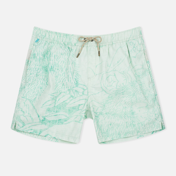 Мужские шорты Uniformes Generale Stay Wild La Brea Mint Chambray