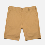Universal Works Loose Twill Men's Shorts Camel photo- 0