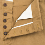 Universal Works Loose Twill Men's Shorts Camel photo- 2