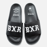 Мужские сланцы Reebok x Born X Raised Classic Slide Black/White фото- 4