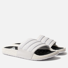 Мужские сланцы adidas Originals Adilette Boost White/White/White фото- 0