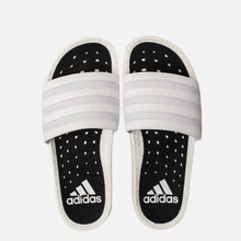 Мужские сланцы adidas Originals Adilette Boost White/White/White фото- 1