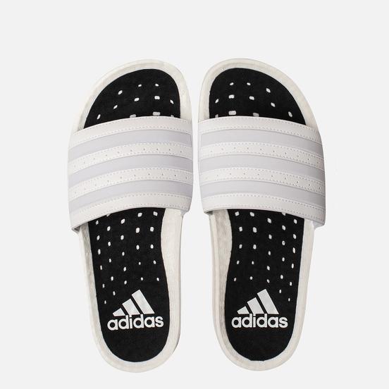 Мужские сланцы adidas Originals Adilette Boost White/White/White