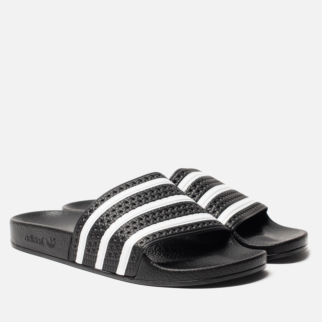 Мужские сланцы adidas Originals Adilette Slides Core Black