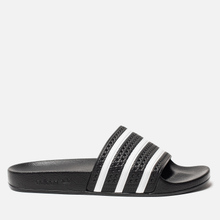 Мужские сланцы adidas Originals Adilette Slides Core Black фото- 3