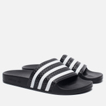 Мужские сланцы adidas Originals Adilette Slides Core Black фото- 2