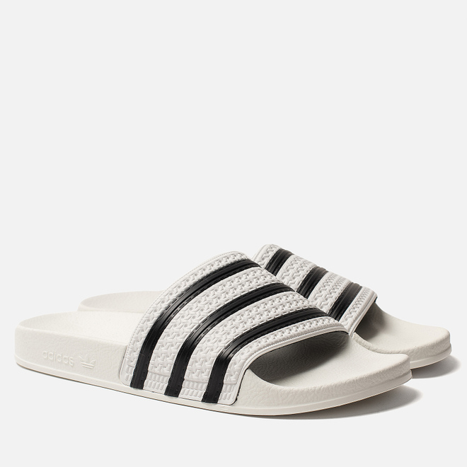 Мужские сланцы adidas Originals Adilette White/Core Black/White