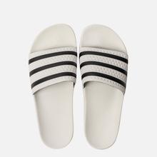 Мужские сланцы adidas Originals Adilette White/Core Black/White фото- 1