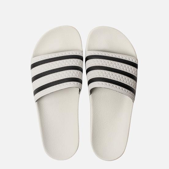 Мужские сланцы adidas Originals Adilette White/Core Black/White