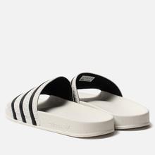 Мужские сланцы adidas Originals Adilette White/Core Black/White фото- 2