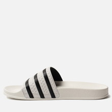 Мужские сланцы adidas Originals Adilette White/Core Black/White фото- 5