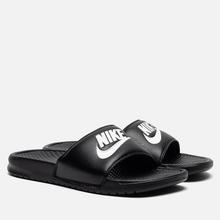 Мужские сланцы Nike Benassi JDI Black фото- 0