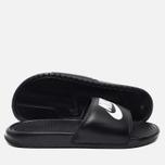 Мужские сланцы Nike Benassi JDI Black фото- 2