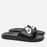 Мужские сланцы Nike Benassi JDI Black фото- 1
