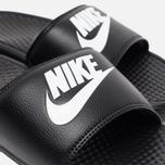 Мужские сланцы Nike Benassi JDI Black фото- 5