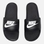 Мужские сланцы Nike Benassi JDI Black фото- 4