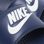 Мужские сланцы Nike Benassi JDI Midnight Navy/Windchill фото- 5
