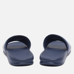 Мужские сланцы Nike Benassi JDI Midnight Navy/Windchill фото- 3