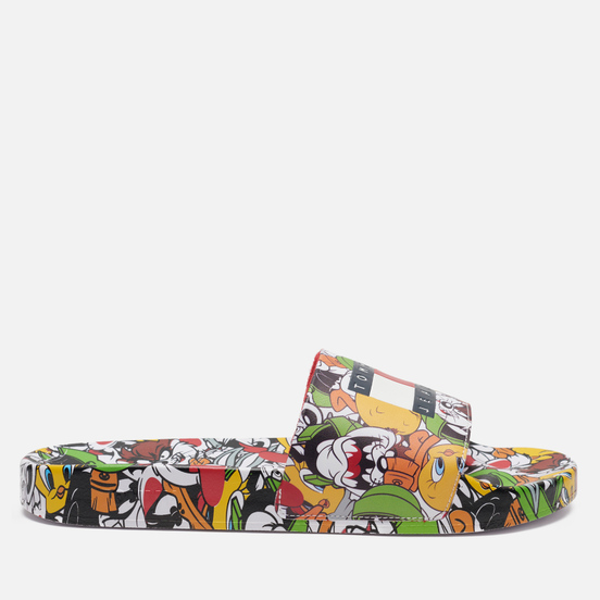Мужские сланцы Tommy Jeans x Looney Tunes Pool All Over Print