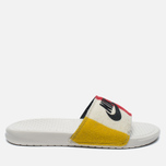 Мужские сланцы Nike Benassi JDI NP QS Off White/Black фото- 0