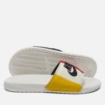 Мужские сланцы Nike Benassi JDI NP QS Off White/Black фото- 2