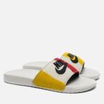Мужские сланцы Nike Benassi JDI NP QS Off White/Black фото- 1