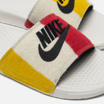 Мужские сланцы Nike Benassi JDI NP QS Off White/Black фото- 5