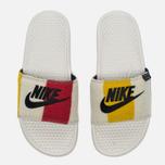 Мужские сланцы Nike Benassi JDI NP QS Off White/Black фото- 4