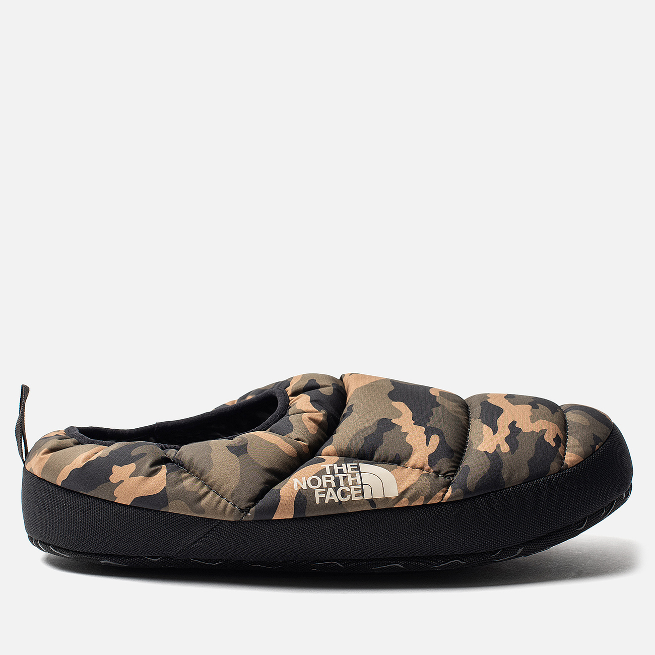 Мужские тапочки The North Face Nuptse Tent Mules III Olive/TNF Black