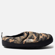 Мужские тапочки The North Face Nuptse Tent Mules III Olive/TNF Black фото- 0