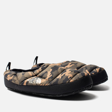 Мужские тапочки The North Face Nuptse Tent Mules III Olive/TNF Black фото- 2